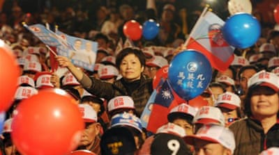 Taiwan readies for tight presidential vote