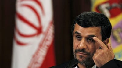 Ahmadinejad accused Western countries of being solely interested in plunder, according to official media [Reuters]