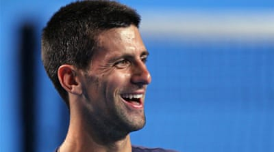 Djokovic in confident mood Down Under