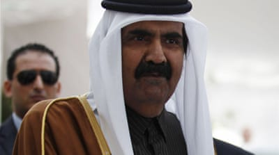 Qatar's emir suggests sending troops to Syria