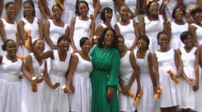 Oprah's Africa academy graduates first group