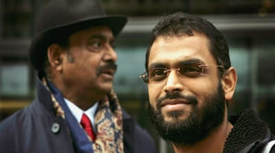Moazzam Begg (right, with his father) has campaigned for those left behind in Guantanamo [GALLO/GETTY]