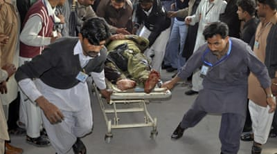 Deaths in attack on Pakistan Shia procession
