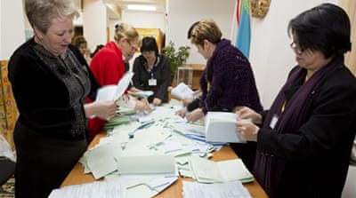 Ruling party wins 'flawed' Kazakh vote