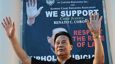 Philippines chief justice faces impeachment