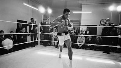 Muhammad Ali celebrates 70th birthday