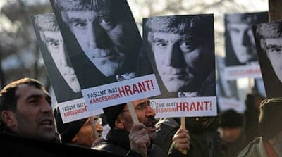 Supporters lament verdict in Hrant Dink case
