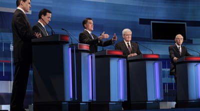 GOP candidates spar in South Carolina debate