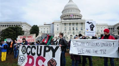 Occupy protesters converge on White House