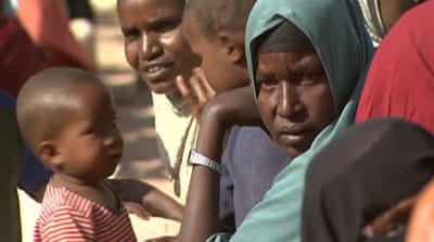 Somali refugees still fleeing famine