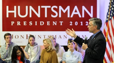 Huntsman stakes bid on New Hampshire primary