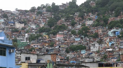 Counter-insurgency 'improves' Brazil's slums