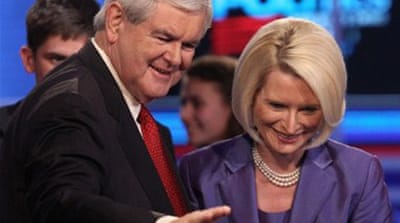 Gingrich attacks 'vicious' media in US debate