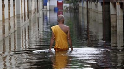 Thailand unveils flood-prevention plan