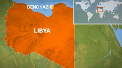 Election helicopter attacked in Libya