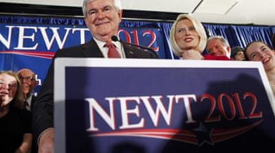 Gingrich wins South Carolina primary