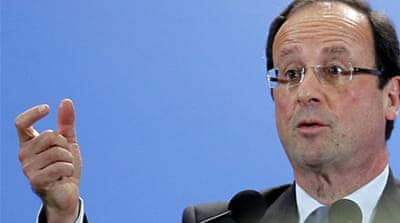 Hollande for restoring faith in France