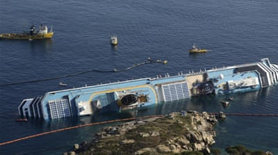Two more bodies found in cruise-ship wreck