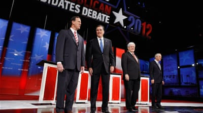Republican candidates take on Tampa