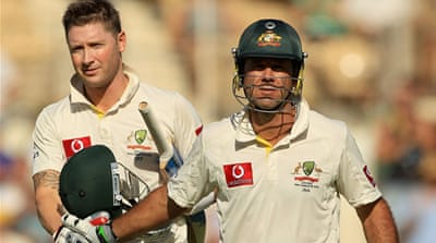 Ponting and Clarke lead from the front