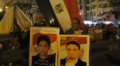 Did Egypt protesters die in vain?