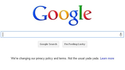'Big Brother' concerns over Google changes