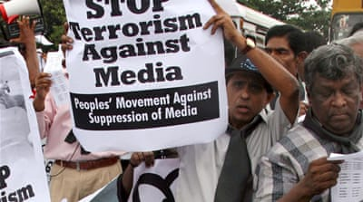 Sri Lanka's media blockade