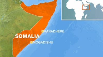 US air strikes target al-Shabab fighters in Somalia