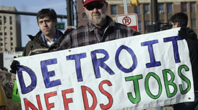 Detroit official says bankruptcy only option