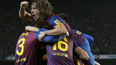 Barca reach King's Cup semis