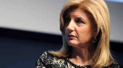 Arianna Huffington: Beyond left and right