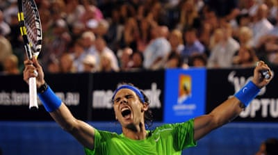 Rafael Nadal through to Aussie Open final