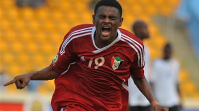 Historic goals for Sudan against Angola