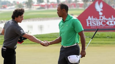McIlroy leads way at Abu Dhabi Championship