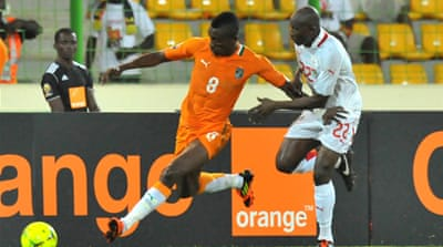 Ivory Coast through to quarter-finals