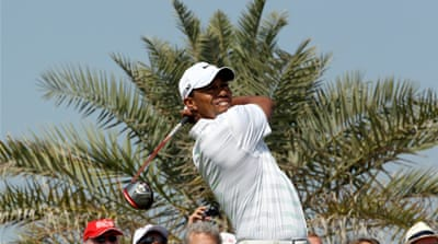Woods chases Olesen in Abu Dhabi