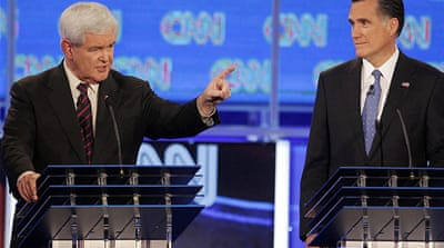 Republican rivals clash over immigration