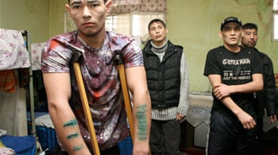 Kyrgyz prisoners end self-mutilation protest