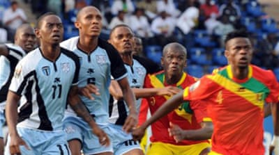 Guinea hit six to equal Cup record