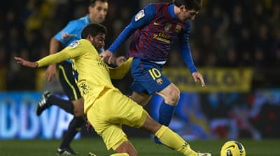 Barcelona held at Villarreal