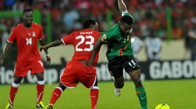 Skipper Katongo gives Zambia top spot