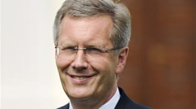 Germany's Wulff under pressure over loan row