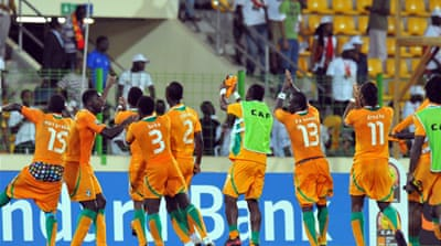 Sudan squeeze through behind Ivory Coast