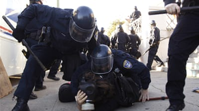 Hundreds of Occupy Oakland activists arrested