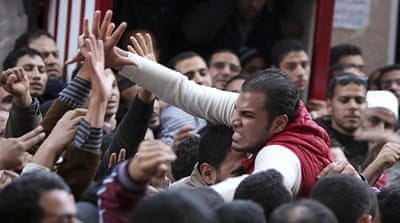Egypt Islamists stop protest against military