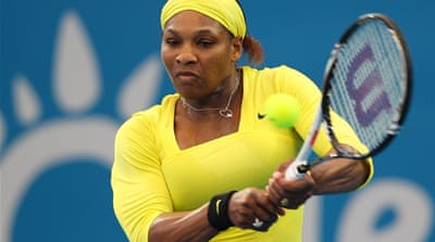 Injury concerns for Serena Williams