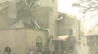 Deaths in Nigeria church attack