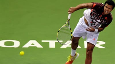 Tsonga wins Qatar Open