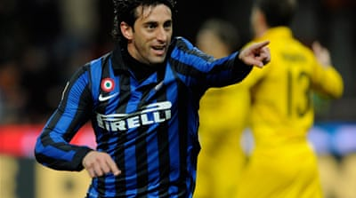 Inter Milan march on