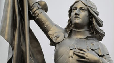 Joan of Arc divides French politics